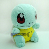 "6"" New Pokemon SQUIRTLE Cute Plush Soft Doll Toy Rare New+PC1919"