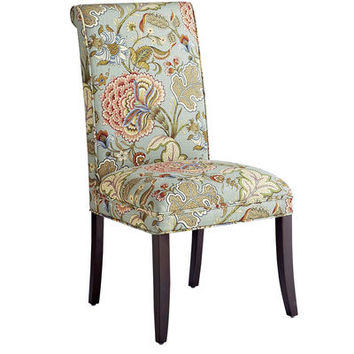 Angela Deluxe Dining Chair Blue