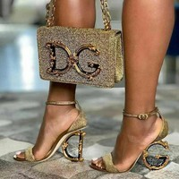 Dolce&Gabbana D&g Perfect High-heeled Sandals Shoes