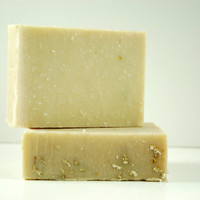 Oatmeal and Honey Facial Soap Bar -  Unscented Soap - Includes honey and green tea for added benefit