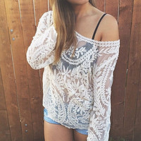 Lace Delight Top