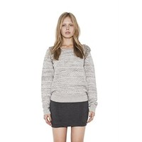 Womens Charcoal Brice Pullover Long Sleeve Sweater By One Grey Day