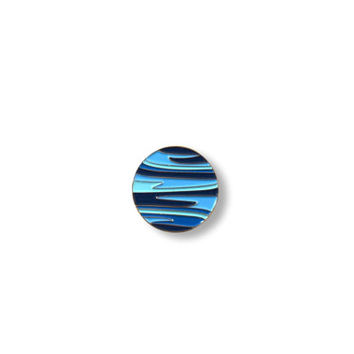 PRE-ORDER: Planet NEPTUNE Pin - Enamel Pin, Lapel pin.