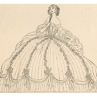 Illustration of Cinderella at the Ball by Jennie Harbour Giclee Print at Art.com