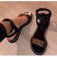 Louis Vuitton LV Fashion Women Sandals Shoes