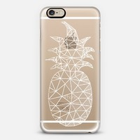 Geometric Pineapple iPhone 6 case by Emanuela Carratoni | Casetify