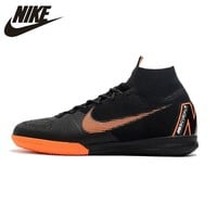 Nike SuperflyX 6 Elite IC  Indoor Soccer Shoes Men Waterproof Soccer Cleats High Ankle AH7373-081 39-45