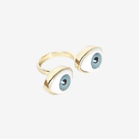 Seeing Double Eye Ring
