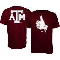 adidas Men's Texas A&M Aggies Maroon Hand Sign T-Shirt   DICK'S Sporting Goods