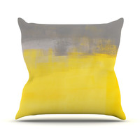 "CarolLynn Tice ""A Simple Abstract"" Throw Pillow, 16"" x 16"" - Outlet Item"