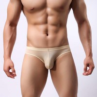 High quality men's sexy underwear briefs male breathable&light plur size XXL