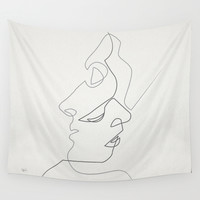 Close Wall Tapestry by Quibe