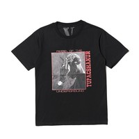 ca DCCK Vlone Underground Rapper Printed T shirts