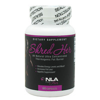 NLA For Her Shred Her, 60 Capsules