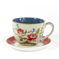 Whimsy Floral Tea Cup Set
