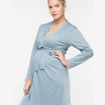 Plume Maternity, Delivery, & Nursing Robe