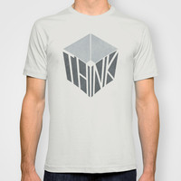 Think Outside the Box T-shirt by ChunkyDesign