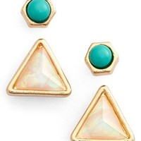 Jules Smith Mix & Match Earrings (Set of 2) | Nordstrom