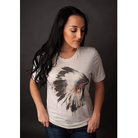 GINA Indian Headdress Tee