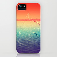 Lapse In Perception iPhone & iPod Case by Victor Vercesi
