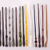 1PCS New Harry Potter Hermione Dumbledore Lord Voldemort Cosplay Magical Wand Weapons