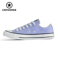 CONVERSE Chuck Taylor Original All Star shoes violet color  men's and women's low sneakers Skateboarding Shoes 160458C