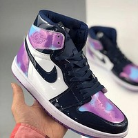 Air Jordan 1 High Simple New Casual Sneakers Shoes