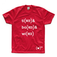 (FAB)RED: Admi(RED) & Desi(RED) Tee Red, at 50% off!