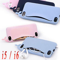 Whale Card Holder iPhone Case