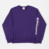 Alltimers Estate Crewneck Sweatshirt - Purple
