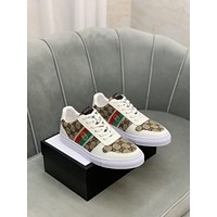 Gucci Men Fashion Boots fashionable Casual leather Breathable Sneakers Running Shoes07130cc