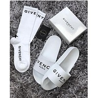 GIVENCHY Comfortable Loose Slippers Shoes