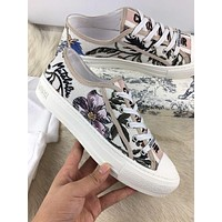 Dior Women Casual Shoes Boots fashionable casual leather Women Heels Sandal Shoes-53