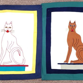 Egyptian Cat Pillow Cases
