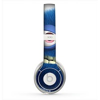 The Angry Blue Fury Monster Skin for the Beats by Dre Solo 2 Headphones