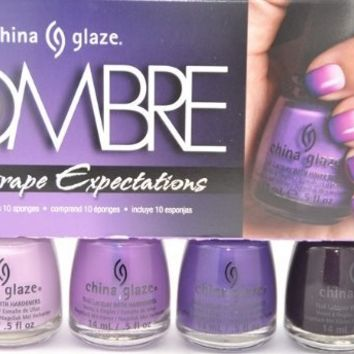 China Glaze OMBRE GRAPE EXPECTATIONS 2013 Collection