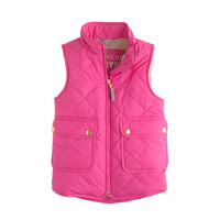 crewcuts Girls Excursion Quilted Vest