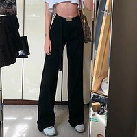 Evie High Waist Wide Leg Pant