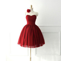 Cheap Ball Gown Short Mini Homecoming Dress, Short Prom Dress, Formal Dresses, Special Party Dress 2013