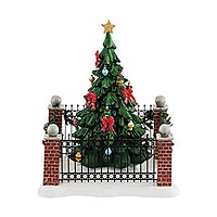 """Department 56 Christmas in the City Village City Town Tree Accessory, 5.87"""""""