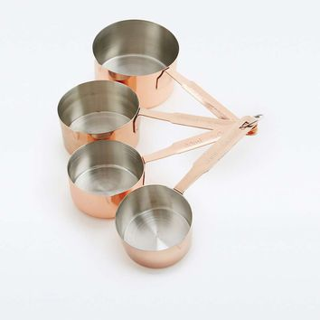 Copper Measuring Cup Set - Urban Outfitters