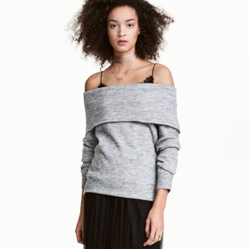 H&M Off-the-shoulder Sweater $24.99