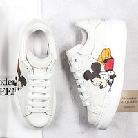 Alexander McQueen Little white shoes