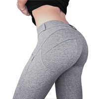 6 Colors S-XL Women's Pants Fashion Sexy Hip Causal Hight Waist Sexy Push Up Adventure Tim Kardashian Big Ass Pants Women