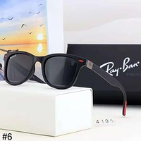 RayBan 2018 new men's driving driving retro personality square sunglasses #6