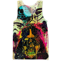 Star Wars art tank top
