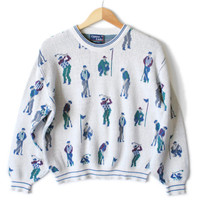 Cypress Links Men's Tacky Ugly Golf Sweater