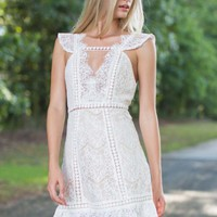 I'll Take You There White Lace Dress