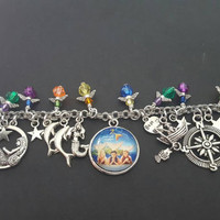 H20 just add water inspired charm bracelet