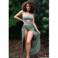Olive Wanderlust Body Dress